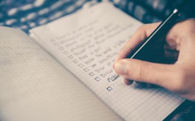 Dream List or Practical Year End Bucket List?